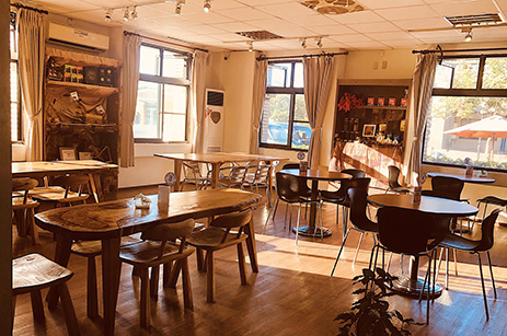 咖啡分享區-吾拉魯滋部落咖啡館