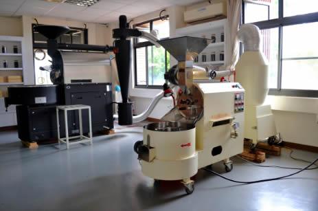 咖啡加工廠暨烘焙教學區